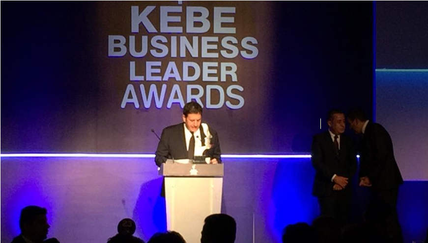 Hyperion Group founder and CEO, Dr. Kassianides recognised with the 2017 Business Leader Award